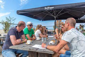 Strandpaviljoen Brouw terras is geopend