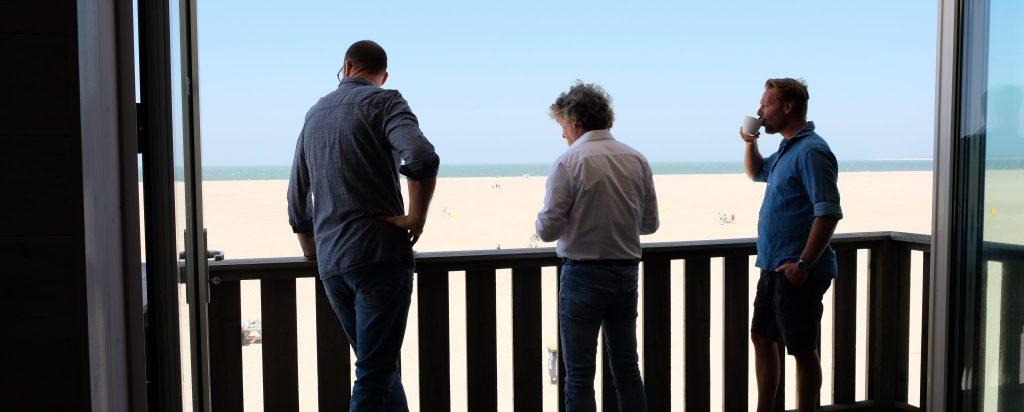 Strandpaviljoen Brouw Boven vergaderruimte